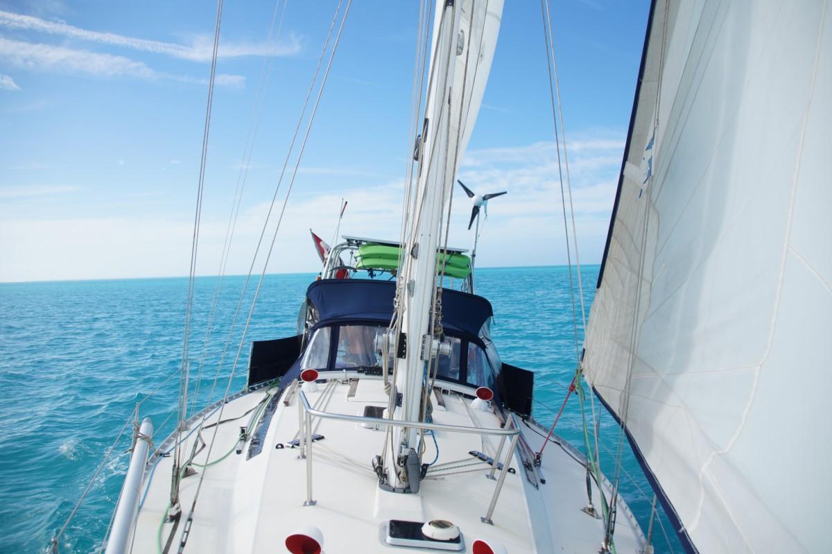 La Smala en navigation